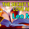 The Secret Tips and Love Advice for the Leo Man