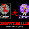 Friendship Compatibility for Cancer and Capricorn using Astrology