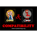 Friendship Compatibility for Gemini and Cancer using Astrology