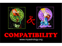 Friendship Compatibility for Leo and Aquarius using Astrology