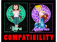 Friendship Compatibility for Libra and Aquarius using Astrology