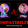 Friendship Compatibility for Aquarius and Pisces using Astrology