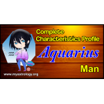 A Complete Characteristics Profile of Aquarius Man