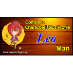 A Complete Characteristics Profile of Leo Man