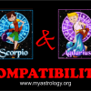 Friendship Compatibility for Scorpio and Aquarius using Astrology