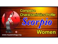 A Complete Characteristics Profile of Scorpio Woman