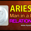 Aries man in a love relationship