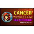 Cancer woman in a love relationship