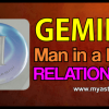 Gemini Man in a Love Relationship