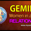 Gemini woman in a love relationship