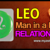 Leo man in a love relationship
