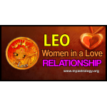 Leo woman in a love relationship