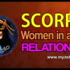 Scor­pio woman in a love relationship