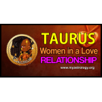 Tau­rus woman in a love relationship