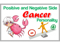 The Positive and Negative Side of a Cancer Personality