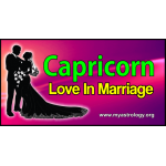 Capricorn Love in Marriage