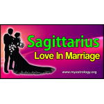 Sagittarius Love in Marriage
