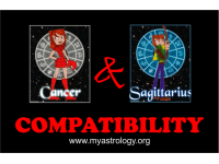 Friendship Compatibility for Cancer and Sagittarius using Astrology