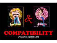 Friendship Compatibility for Gemini and Pisces using Astrology