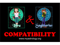 Friendship Compatibility for Libra and Sagittarius using Astrology