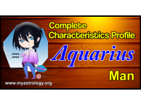 A Complete Characteristics Profile of Aquarius Man