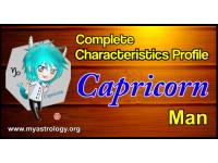 A Complete Characteristics Profile of Capricorn Man