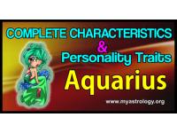The Complete Characteristics Profile & Personality Traits of Aquarius