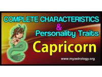 The Complete Characteristics Profile & Personality Traits of Capricorn