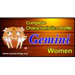 A Complete Characteristics Profile of Gemini Woman