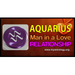 Aquar­ius man in a love relationship