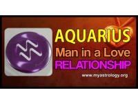 Aquarius man in a love relationship
