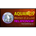Aquarius woman in a love relationship