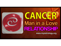 Cancer man in a love relationship