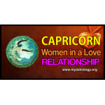 Capri­corn woman in a love relationship