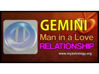Gemini Man in a Love Relationship