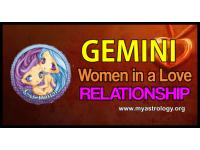 Gemini woman in a love relationship