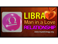 Libra man in a love relationship