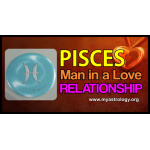 Pisces man in a love relationship