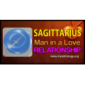 Sagittarius man in a love relationship