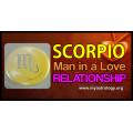 Scorpio man in a love relationship