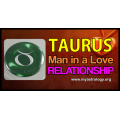 Taurus man in a love relationship