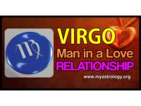 Virgo man in a love relationship