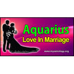 Aquarius Love in Marriage