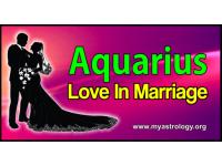 Aquarius Love in Marriage