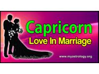 Capricorn Love in Marriage