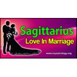 Sagittarius Love in Marriage