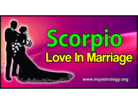 Scorpio Love in Marriage