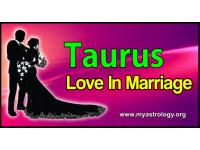 Taurus Love in Marriage