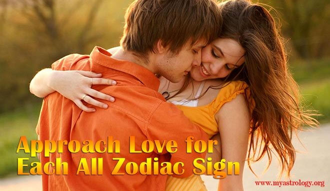 Approach Love for Each All Zodiac Sign