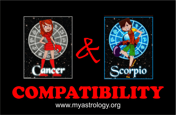 Friendship Compatibility for Cancer and Scorpio using Astrology